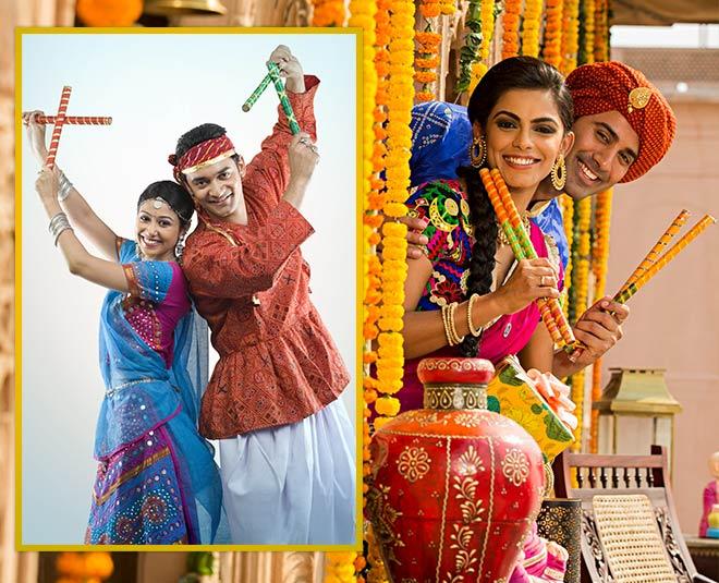 Latest bollywood dandiya and garba western outfits fashion