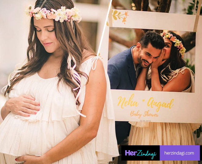 Neha dhupia baby shower bollywood celebs gives her wishes