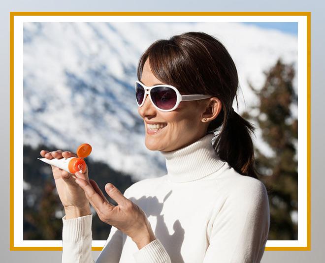applying sunscreen benefits in winter season