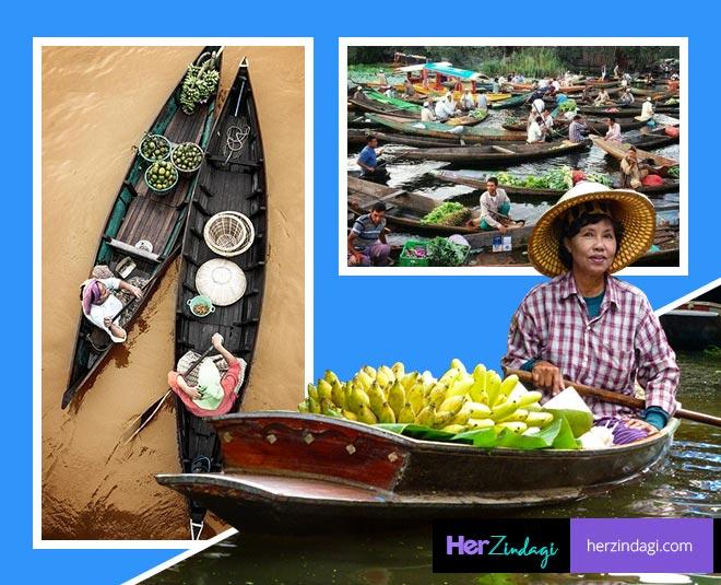 best floating markets around the world