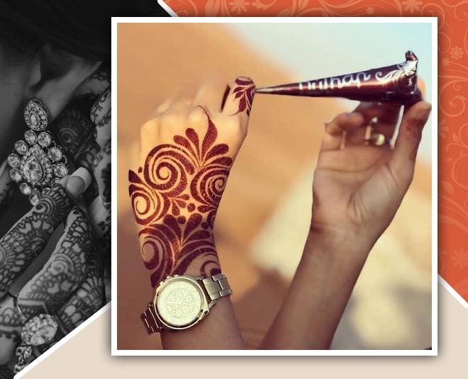 karwa chauth mehndid design