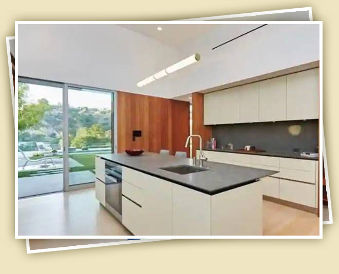 priyanka chopra nick jonas luxurious house kitchen