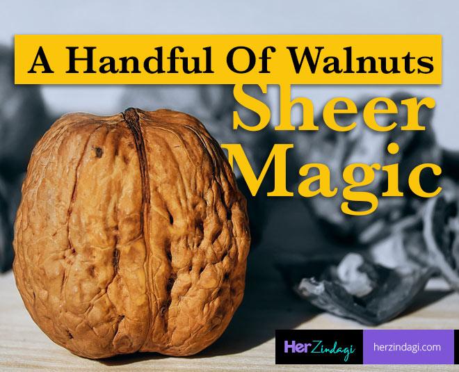 walnuts sheer magic for health