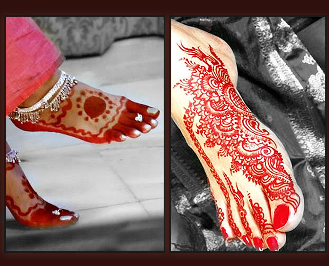 Latest alta designs for feet try this festival season beside mehendi