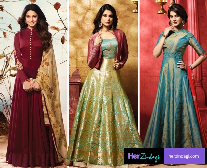 anarkali suit design according to your height figure main