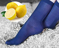 benefits of lemon in socks