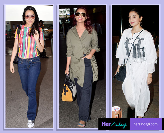 best airport look bollywood actress main