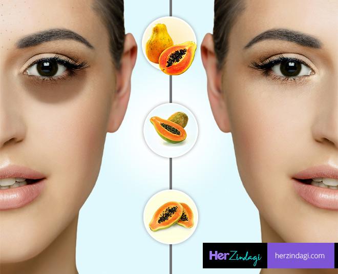 blackheads and darkcircle remove by papaya main