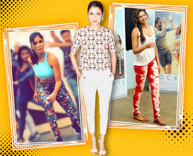 bollywood actress in printed pants article