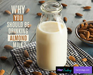 drinking almond milk benefits