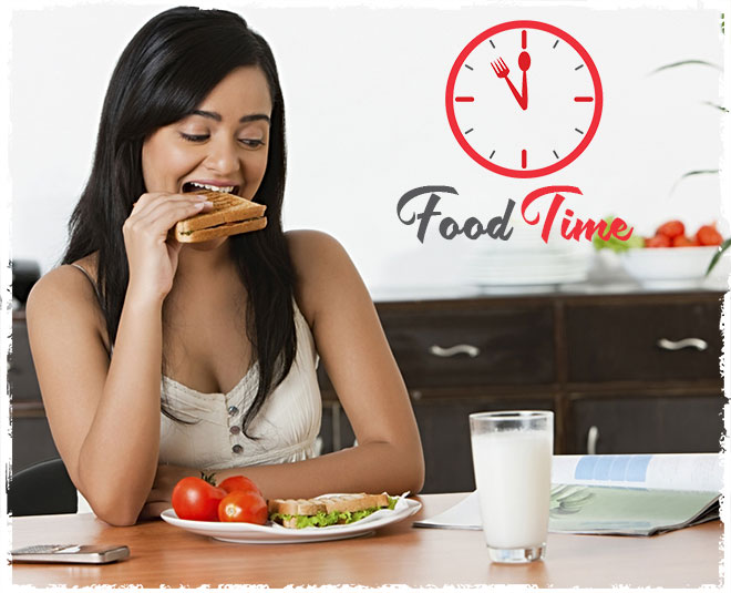 food timing according to diet article