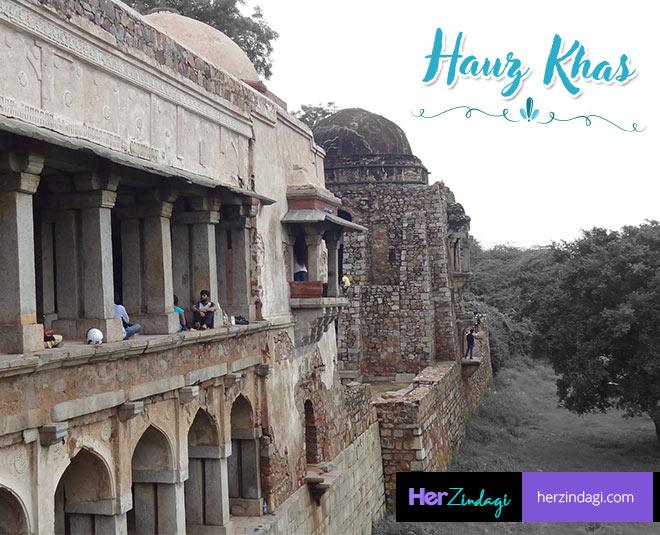hauz khas monuments no  more free entry