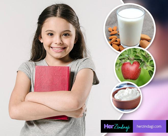 kids study foods