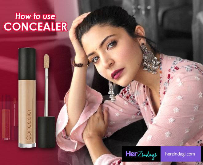 makeup tips while applying concealer glowing skin main