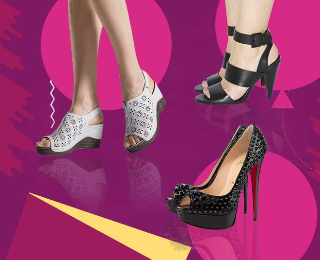 types of heels and right name article
