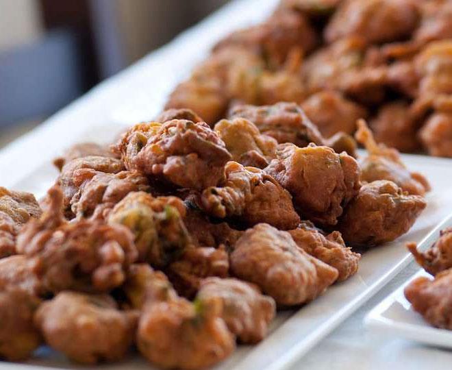 walnut pakoda recipe inside