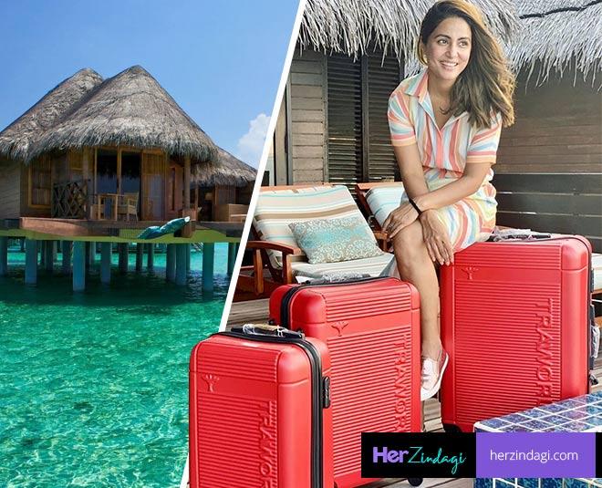 Hina khan Maldives travel tips  summer vacation destination