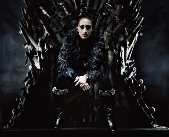 Kasautii zindagii kay  prerna aka Erica fernandes game of thrones look