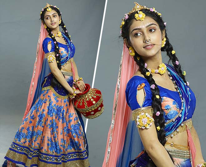 RadhaKrishn tv serial radha rani lehenga look