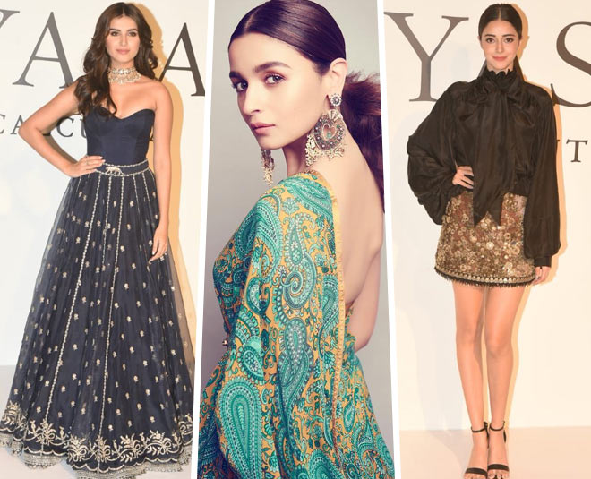 20 Years Of Sabyasachi Alia Bhatt Isha Ambani And Other Stars Dazzle At The Brand S Anniversary