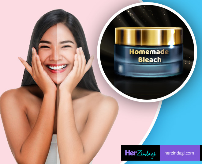 curd hommade bleach for skin ()