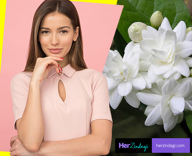 jasmine for glowing skin card ()