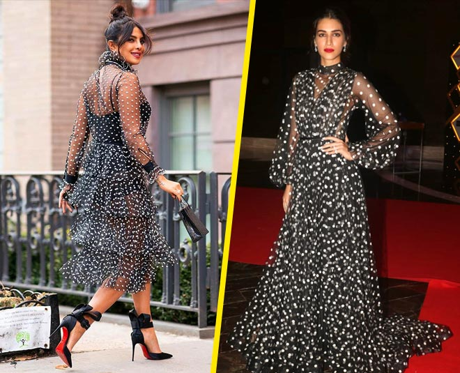 kriti sanon black dress