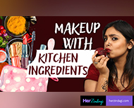 natural makeup with kitchen ingredients thumb