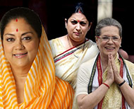 saree style statement of indian women politicians thumb