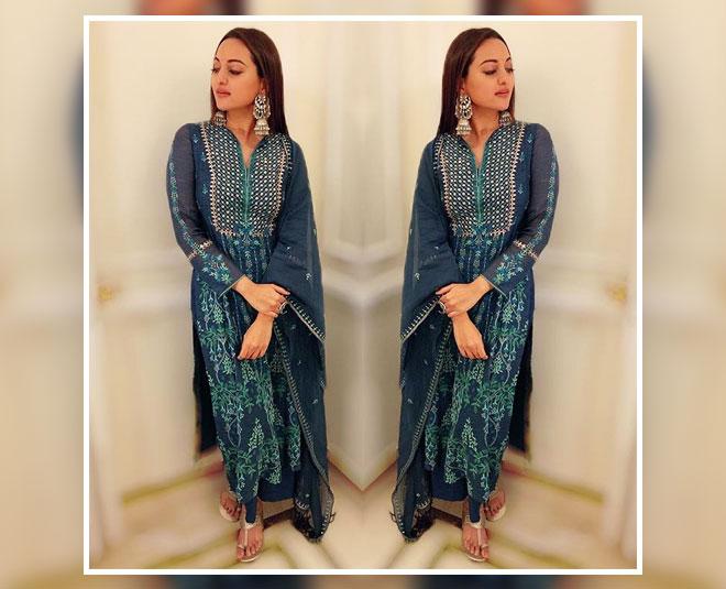 sonakshi sinha ethnic wear summers inside