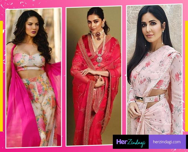 actress in pink colour main