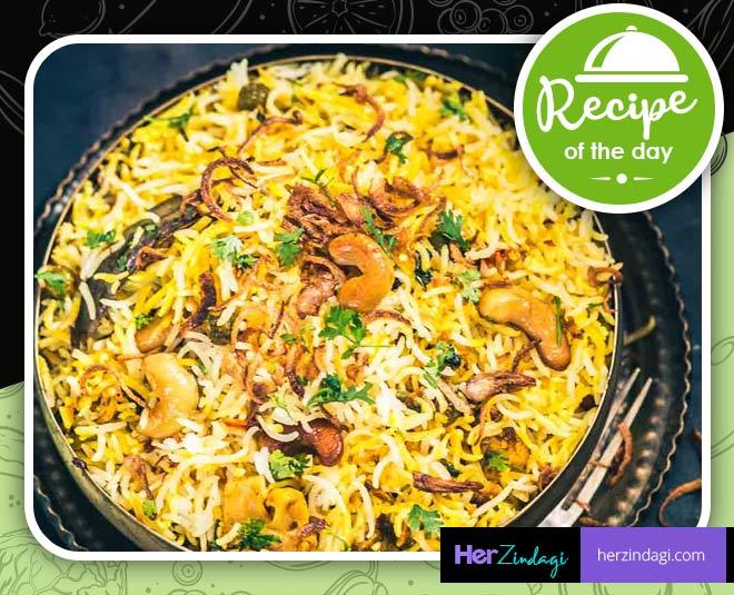 cook mughlai veg biryani at home main