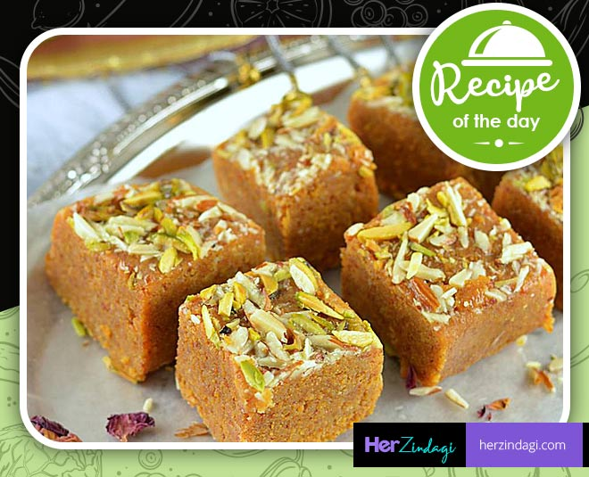 how to make sweet dish aflatoon barfi main