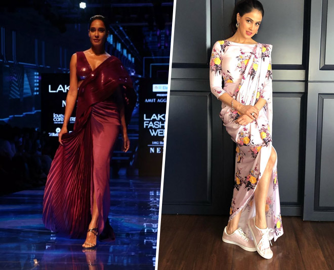 Lakme Fashion Week Sarees That Every Newlywed Girl Should Have In Her Closet