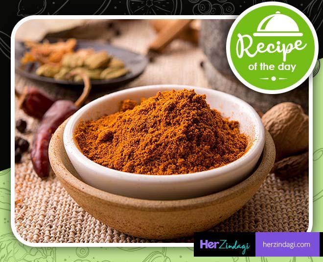 make chana masala powder at home main