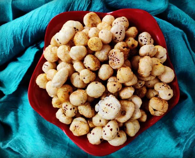 makhana recipes, makhana benefits for skin