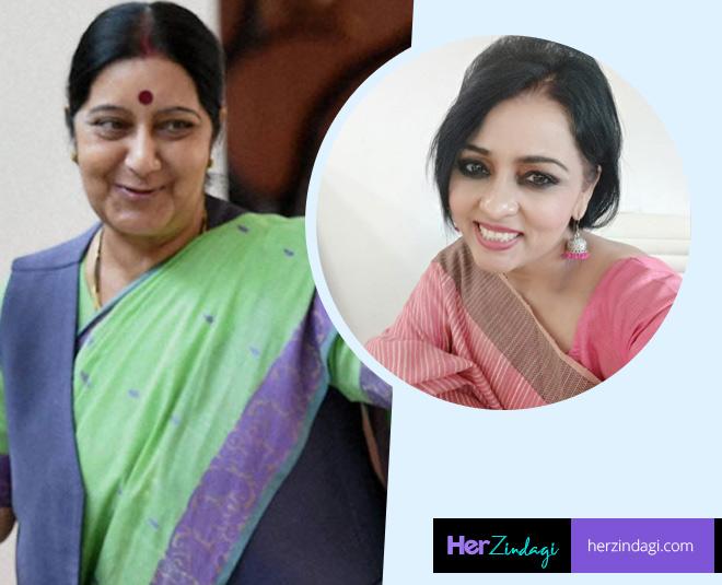 neelu vyas thomas on sushma swaraj main