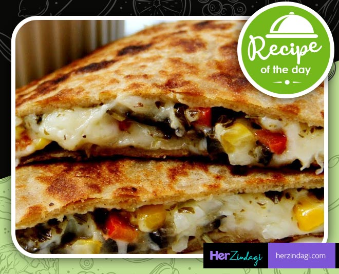 pizza paratha recipe main