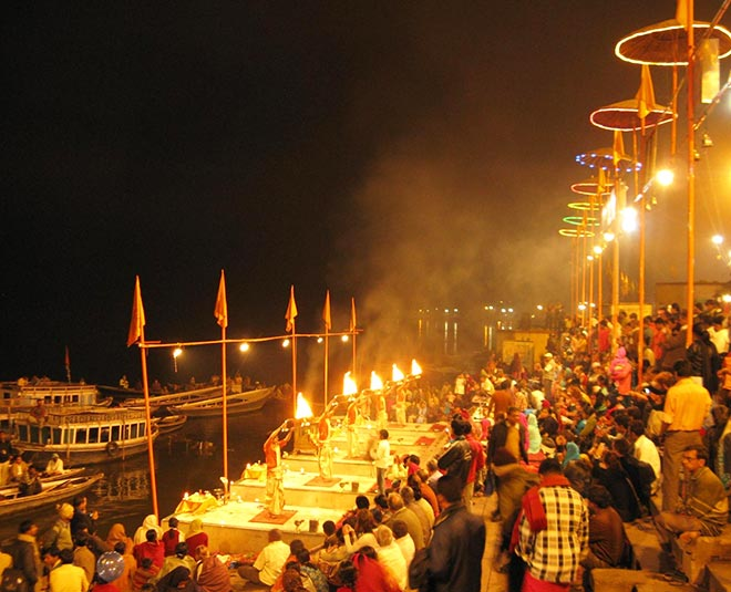 places for ganga aarti m