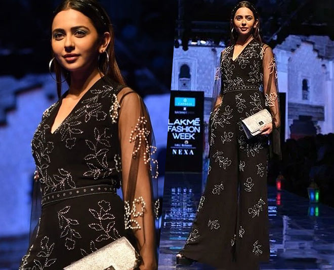 rakul preet singh lakme fashion week main