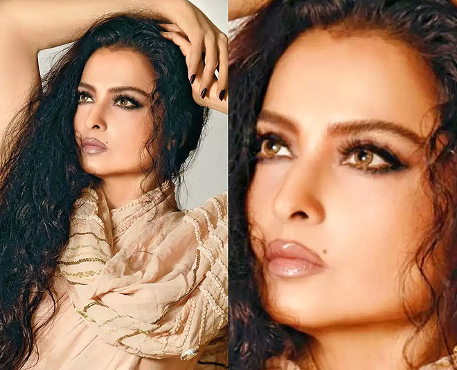 4 Beauty Secrets Of Bollywood Actress Rekha for Flawless and Glowing Skin
