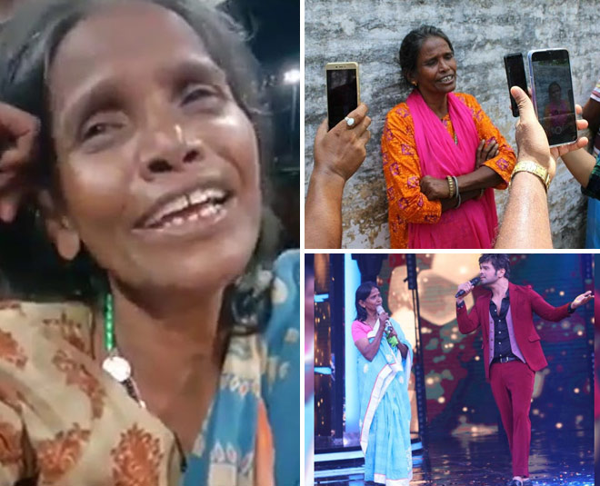 social media sensation singer ranu mondal recorded  her first song main