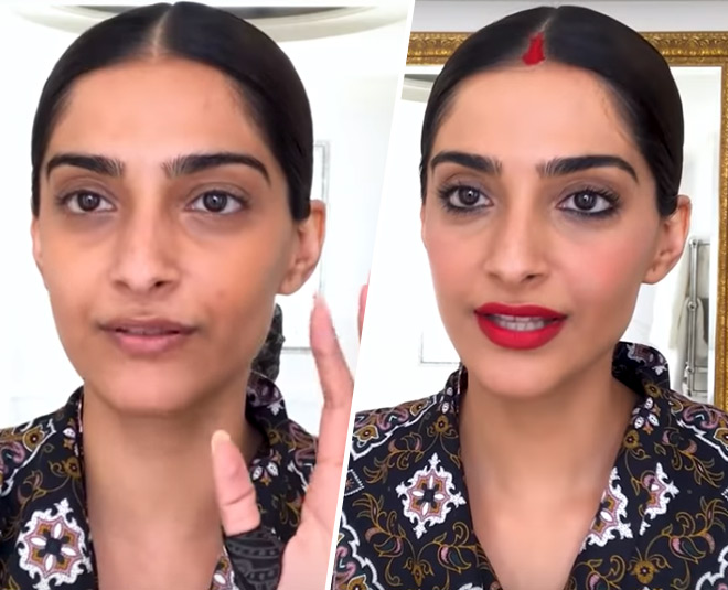 sonam kapoor ahuja makeup