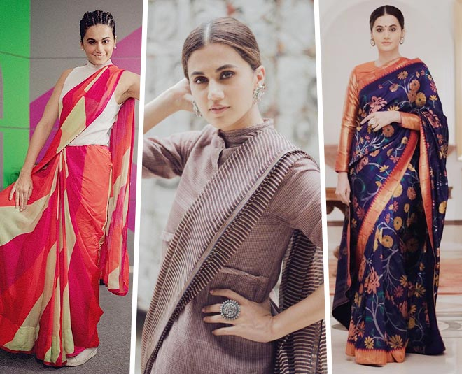 taapsee saree love