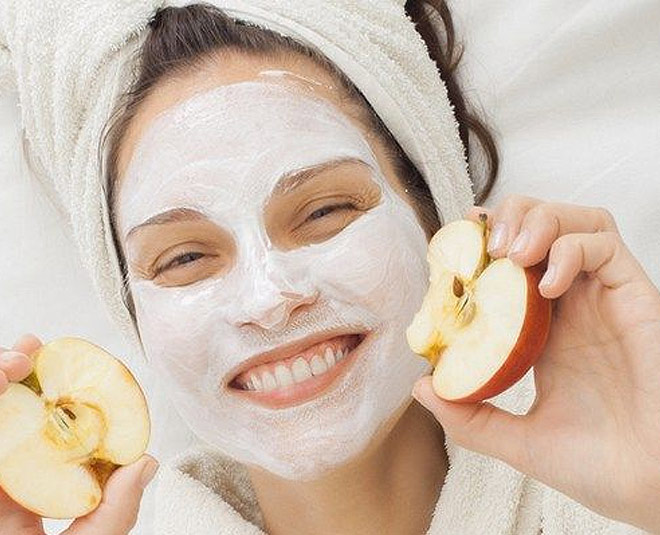 Homemade Apple Peel Face Mask For Glowing Skin