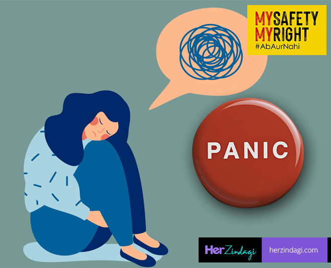 my right panic