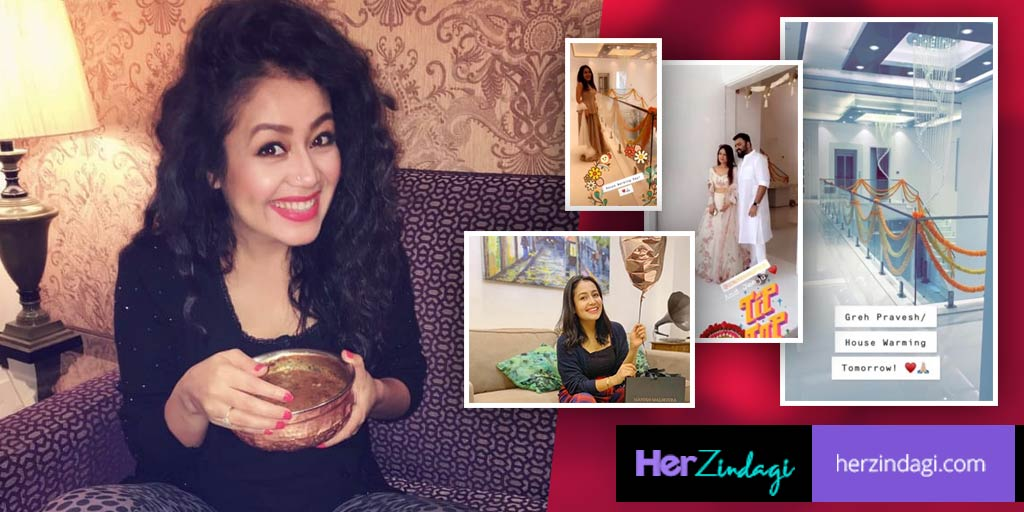 Neha Kakkar S House In Mumbai Looks Like A Royal Mansion Here Are Inside Pictures
