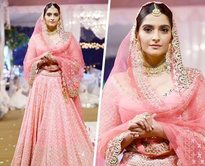 pink colour for brides m