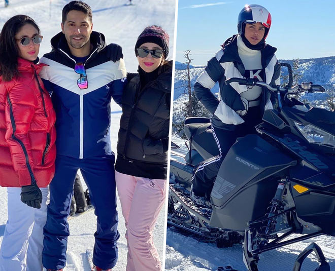 priyanka chopra saif kareena winter vacation pics