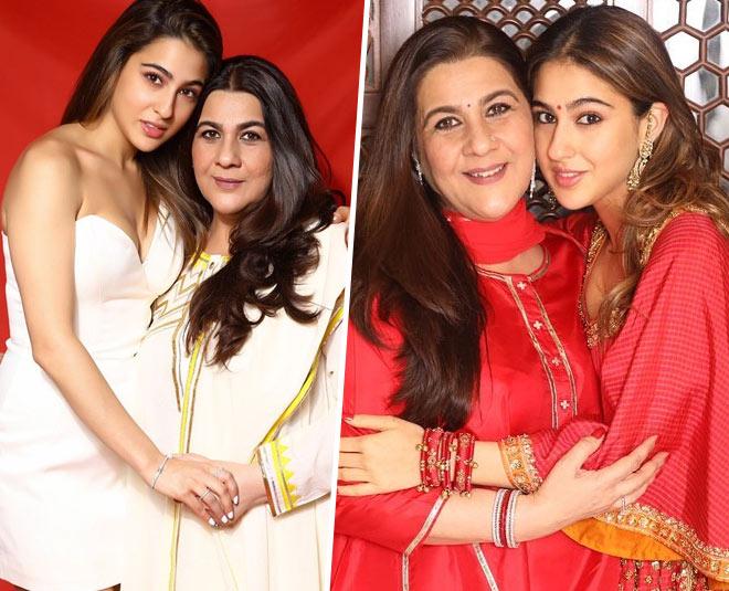 sara ali khan share emotional post for mother amrita singh